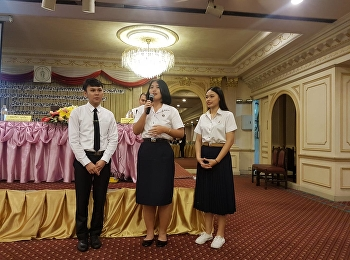 SDDSSRU Bring students to participate in activities Bangkok Volunteer Exchange