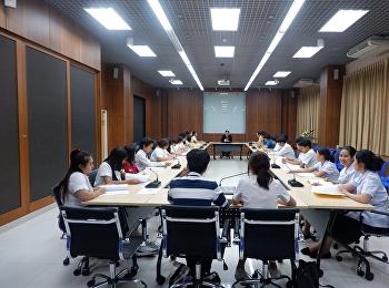 ประชุมสามัญประจำปีสมาชิกสภานักศึกษามหาวิทยาลัยราชภัฏสวนสุนันทา ครั้งที่ 1