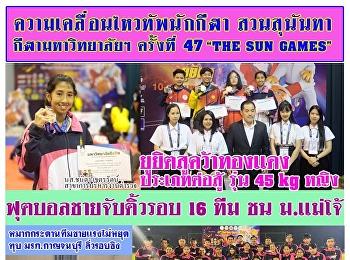 ข่าวสารทัพนักกีฬาสวนสุนันทา ในการแข่งขันกีฬามหาวิทยาลัยแห่งประเทศไทย ครั้งที่ 47