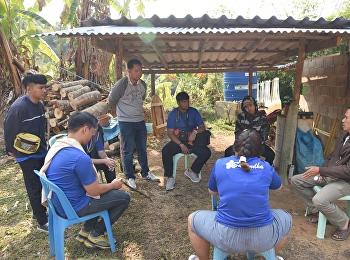 ชมรม CIM NBI เดินทางไปยังหมู่บ้านแม่ย่างมิ้น ต.ศรีถ้อย อ.แม่สรวย จ.เชียงราย เพื่อขึ้นไปดูวิธีการทำแนวกันไฟ
