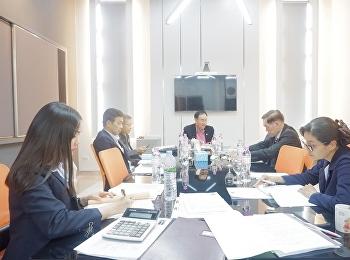 รองอธิการบดีฝ่ายกิจนักศึกษา ได้เป็นประธานการประชุมคณะอนุกรรมการบริหารสุนันทาคลินิกเวชกรรม ครั้งที่ 1/2563