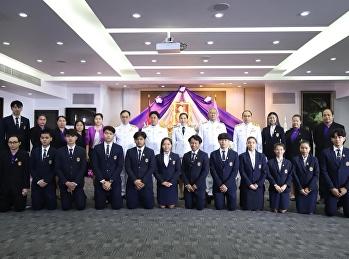 พิธีถวายพระพรชัยมงคลเนื่องในโอกาสวันเฉลิมพระชนมพรรษาสมเด็จพระนางเจ้าสุทิดา พัชรสุธาพิมลลักษณ พระบรมราชินี ณ ห้องประชุมช่อแก้ว มหาวิทยาลัยราชภัฏสวนสุนันทา