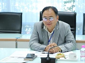 รักษาการรองอธิการบดีฝ่ายกิจการนักศึกษา เข้าร่วมประชุมรองอธิการบดี มหาวิทยาลัยราชภัฏสวนสุนันทา ครั้งที่ 2/2563
