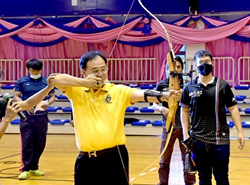 โครงการสนับสนุนการพัฒนาความสามารถพิเศษ (Talent) กีฬายิงธนู ให้แก่นักศึกษา