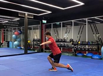 Ep.3 คลิปแนะนำการออกกำลังกาย ในช่วงโควิดปิดอยู่บ้าน กับทาง เพจฟิตเนส SSRUWellnessCenter