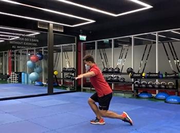 Ep.7 คลิปแนะนำการออกกำลังกาย ในช่วงโควิดปิดอยู่บ้าน กับทาง เพจฟิตเนส SSRUWellnessCenter ของเราได้ทุกวันอังคารและพฤหัส