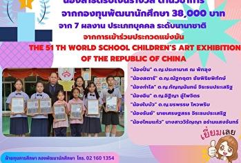 มอบเงินรางวัลให้กับน้องๆสาธิตในกลุ่มด้านวิชาการ ประเภทบุคคล ระดับนานาชาติ