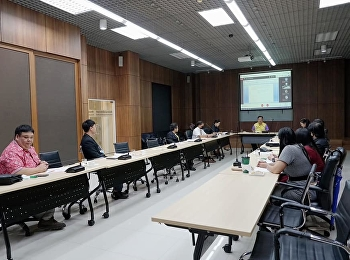 การประชุมคณะกรรมการปฏิบัติงานด้านการจัดกิจกรรมพัฒนานักศึกษา ครั้งที่ 3/2564