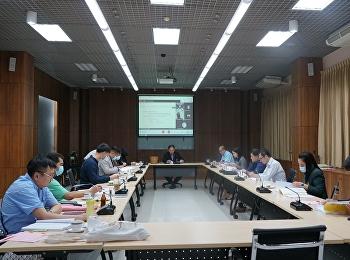 รองอธิการบดีฝ่ายกิจการนักศึกษา เป็นประธานประชุมคณะกรรมการบริหารกองทุนพัฒนานักศึกษา ครั้งที่ 2/2564